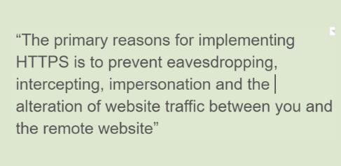 GlobalReach-https vs http
