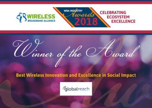 GlobalReach - WBA industry Awards GRT