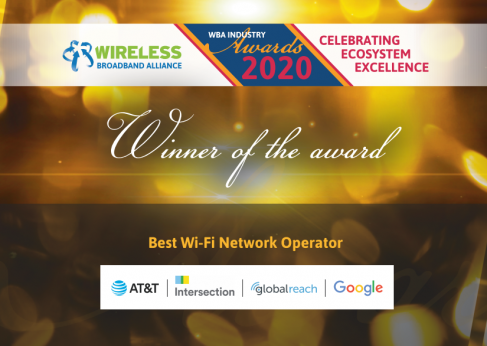 Best Wi-Fi Network Operator WBA Awards 2020