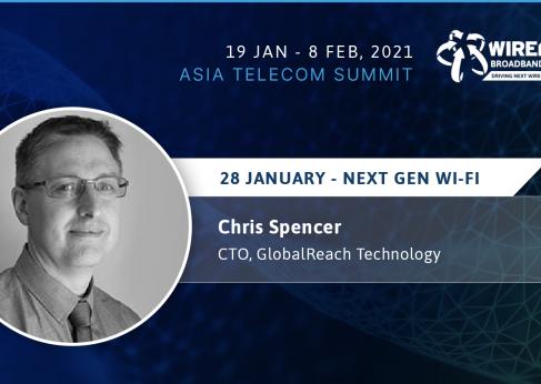 Chris Spencer, GlobalReach speaks at the WBA Asia Telecoms Summit